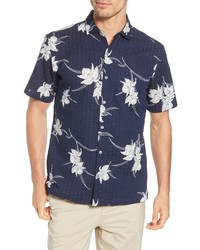 Tori Richard Cattleya Classic Fit Floral Short Sleeve Shirt