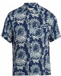 Ditions Mr Floral Print Short Sleeved Shirt