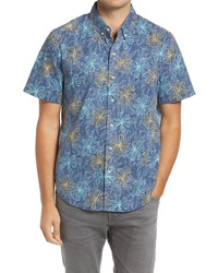 Reyn Spooner Electric Lily Tailored Fit Short Sleeve Shirt