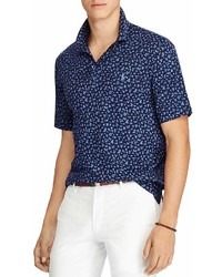 Polo Ralph Lauren Floral Classic Fit Soft Touch Short Sleeve Polo Shirt