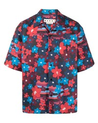 Marni Floral Print Buttoned Shirt