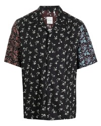 Paul Smith Floral Print Buttoned Up Shirt