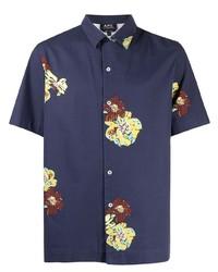 A.P.C. Flower Print Shirt