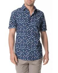 Rodd & Gunn Foxhill Sport Fit Short Sleeve Button Up Shirt