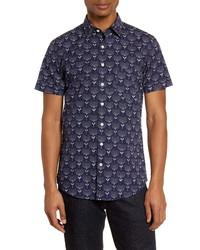 Rodd & Gunn Govan Regular Fit Floral Short Sleeve Button Up Shirt