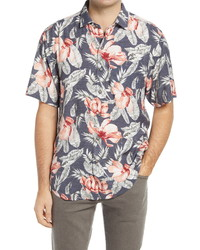 Tommy Bahama Jambo Fronds Floral Button Up Shirt