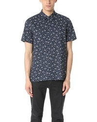 Paul Smith Ps By Short Sleeve Mini Floral Shirt