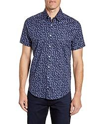 Stone Rose Regular Fit Short Sleeve Button Up Sport Shirt