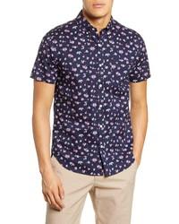 Bonobos Riviera Slim Fit Floral Short Sleeve Shirt