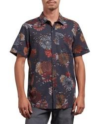Stoney delusion short sleeve woven shirt medium 8801320