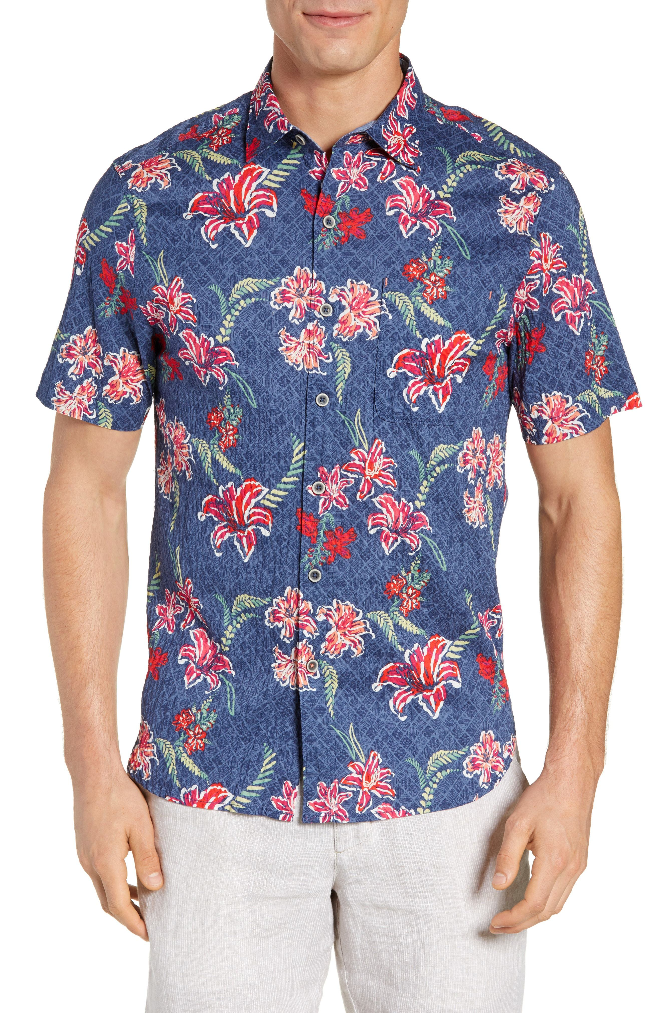 Tommy Bahama Tahitian Etch Sport Shirt Where To Buy How To Wear
