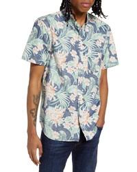 Chubbies The Resort Wear Floral Short Sleeve Shirt