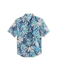 Reyn Spooner Waimea Canyon Tailored Fit Short Sleeve Shirt