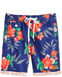 Superdry Honolulu Floral Print Swim Shorts