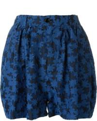 Julien david embroidered floral shorts medium 547530