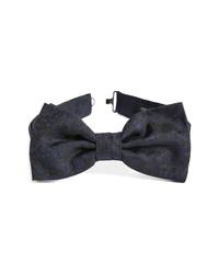 John Varvatos Floral Skull Silk Bow Tie