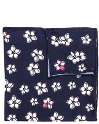 hook + ALBERT Lanai Floral Silk Pocket Square
