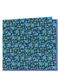 Ted Baker London Floral Cotton Silk Pocket Square