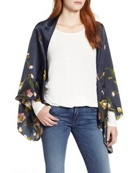 Ted Baker London Arboretum Silk Cape Scarf