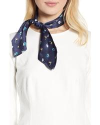 Halogen Floral Silk Tie Scarf