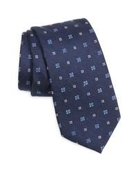 Nordstrom Pelner Neat Floral Silk Tie