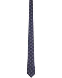 Gucci Purple Pink Silk Interlocking G Flowers Tie