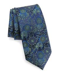 Ted Baker London Tonal Floral Silk Tie
