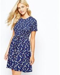Oasis Floral Printed Skater Dress