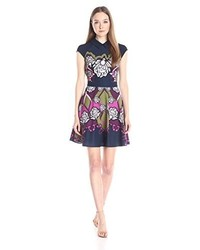 Ted Baker Daywin Surreal Tapestry Skater Dress