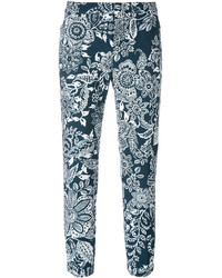 Cropped floral trousers medium 3649977