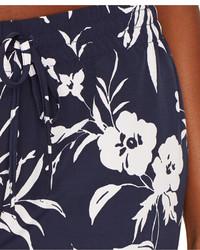 Lauren Ralph Lauren Floral Print Skinny Pants