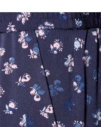 Diane von Furstenberg Janeta Printed Silk Trousers