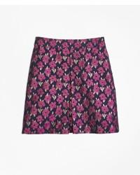 Brooks Brothers Floral Jacquard Skirt