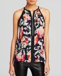 Top floral zip front cutaway medium 135060