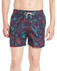 Salvatore Ferragamo Abstract Floral Swimshorts