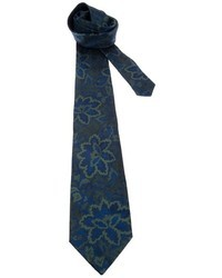 Fendi Vintage Floral Print Tie