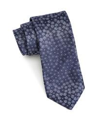 John Varvatos Floral Silk Tie