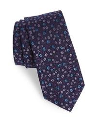 Ted Baker London Floral Silk Wool Tie