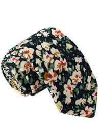 Knot Society Floral Print Tie