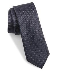 Ted Baker London Micro Floral Skinny Silk Tie