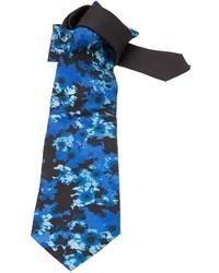 Versace Floral Jacquard Tie