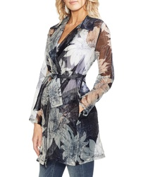Vince Camuto Pagoda Blossoms Trench