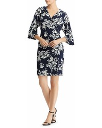 Lauren Ralph Lauren Faux Wrap Floral Dress