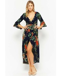 Forever 21 Selfie Leslie Floral Wrap Dress
