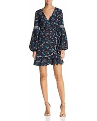 The Fifth Label Skyward Floral Print Wrap Dress