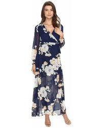 Brigitte Bailey Tilda Floral Print Maxi Wrap Dress