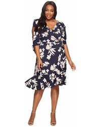 Kiyonna Winnie Wrap Dress