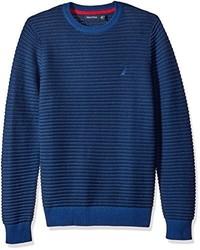 Nautica Tonal Striped Pullover Sweater
