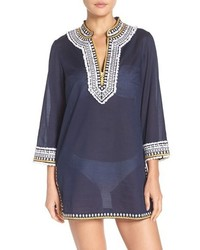 Tory Burch Fringe Cover Up Tunic