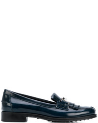 Tod's Double T Fringe Loafers